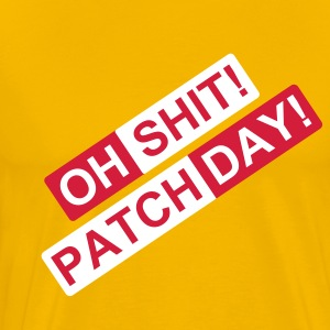 patch day 2c T-Shirts - Men's Premium T-Shirt