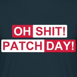 patch day 2c T-Shirts - Men's T-Shirt