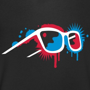 3D glasses in graffiti style T-Shirts - Men's V-Neck T-Shirt