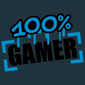 100 Procent Gamer T-shirts - Herre-T-shirt