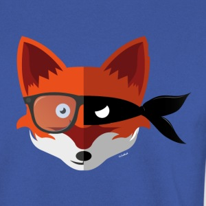 Hipster/Villain Fox Sweater - Mannen sweater
