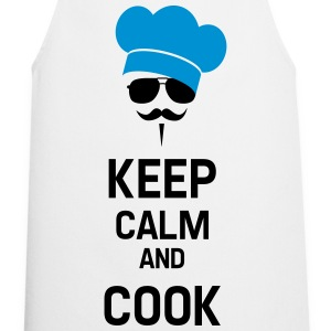 Cook with Moustache  Aprons - Cooking Apron