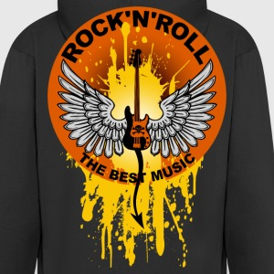 Rock 'n' Roll 01 Hoodies & Sweatshirts - Men's Premium Hooded Jacket