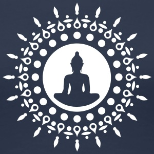 Buddha meditation, yoga, Buddhism, enlightenment T-skjorter - Premium T-skjorte for kvinner