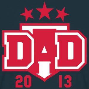 DAD 2013 3star Shield Design T-Shirt 2C RW - T-skjorte for menn