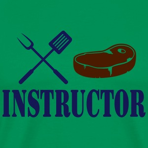 Grill instructor - rotes Steak T-Shirts - Männer Premium T-Shirt