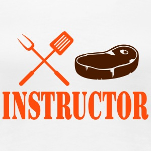Grill instructor - rotes Steak T-Shirts - Frauen Premium T-Shirt