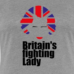 Iron Lady Margaret Thatcher - Women's Premium T-Shirt