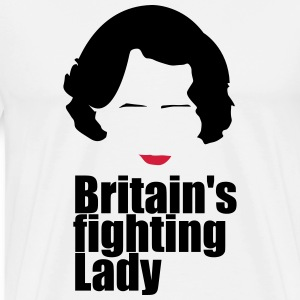 Iron Lady, Margaret Thatcher - Men's Premium T-Shirt