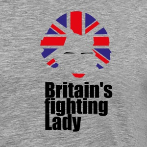Iron Lady Margaret Thatcher - Men's Premium T-Shirt