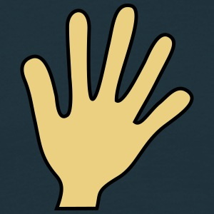 Hand High Five T-shirts - Herre-T-shirt