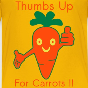 Happy Carrot Thumbs Up Tee shirts - T-shirt Premium Enfant