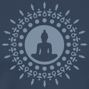 Buddha meditation, yoga, Buddhism, enlightenment T-Shirts - Men's Premium T-Shirt