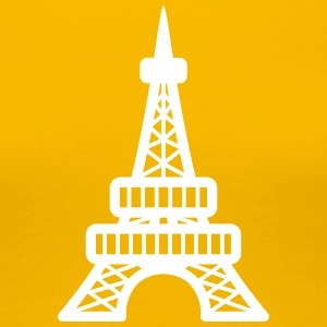 Eiffelturm in Paris T-Shirts - Frauen Premium T-Shirt