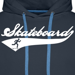 Skateboard Team Sweat-shirts - Sweat-shirt à capuche Premium pour hommes