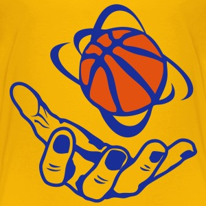 basketball main hand ouverte open ballon Tee shirts - T-shirt Premium Ado