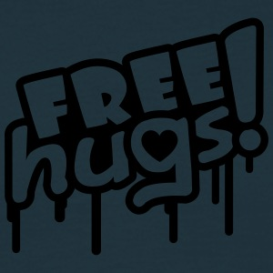 Free Hugs Graffiti T-shirts - Herre-T-shirt