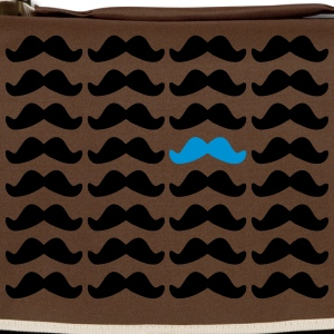 Mustache Moustache Be Different 2c Bags  - Shoulder Bag