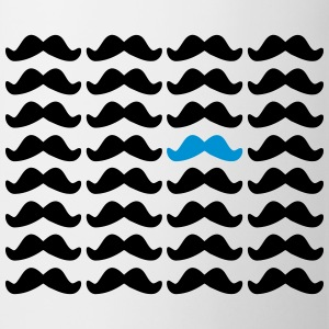 Mustache Moustache Be Different 2c Butelki i kubki - Kubek