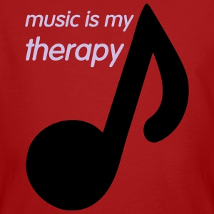 Music is my Therapy Tee shirts - T-shirt bio Homme