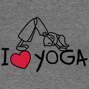 I love yoga Hoodies & Sweatshirts - Women's Boat Neck Long Sleeve Top