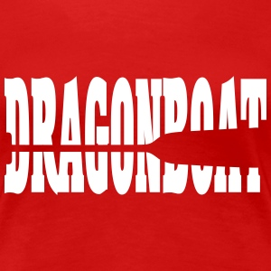 Dragonboat dragon boat paddle paddle 1 c. T-Shirts - Women's Premium T-Shirt