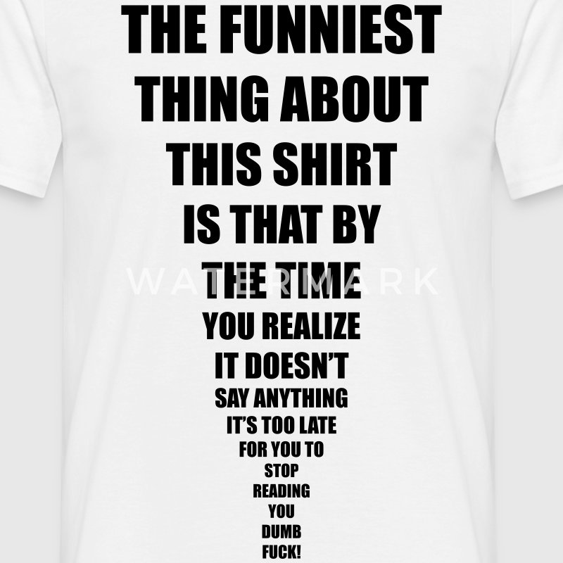 Funny T-shirts | Spreadshirt UK