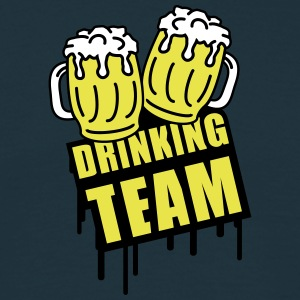 Beer Drinking Team T-shirts - T-shirt herr