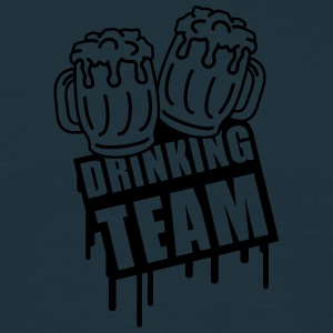 Beer Drinking Team T-skjorter - T-skjorte for menn