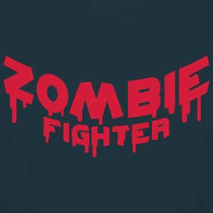 Zombie Fighter T-shirts - Herre-T-shirt