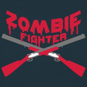 Zombie Fighter Shotguns Camisetas - Camiseta hombre