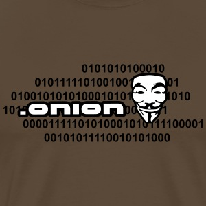 .onion anonymous T-Shirts - Men's Premium T-Shirt