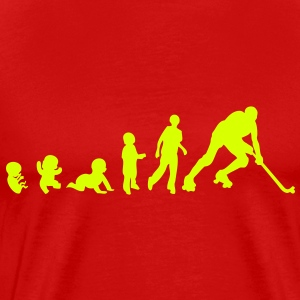 evolution rink hockey player1 bebe adult Tee shirts - T-shirt Premium Homme