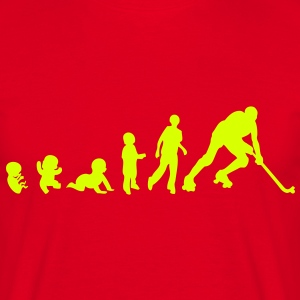evolution rink hockey player1 bebe adult Tee shirts - T-shirt Homme