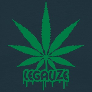Legalize Weed Graffiti T-shirts - T-shirt herr