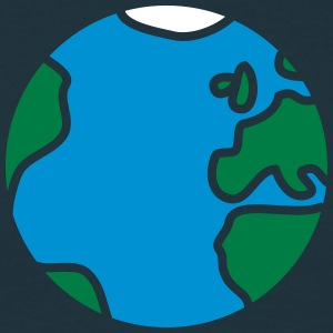 Comic Earth T-shirts - Mannen T-shirt
