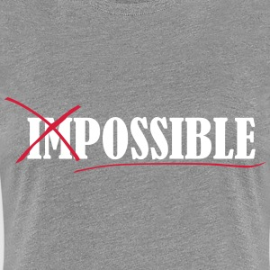 Impossible T-Shirts - Frauen Premium T-Shirt