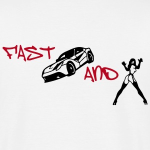 FAST CARS AND BITSCHES T-Shirts - Männer T-Shirt