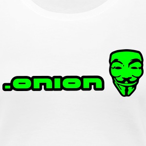 .onion anonymous T-skjorter - Premium T-skjorte for kvinner