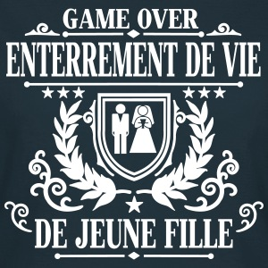 Enterrement de vie de jeune fille - Game Over Tee shirts - T-shirt Femme