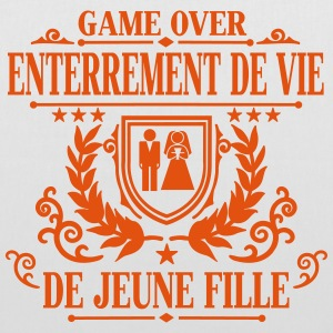 Enterrement de vie de jeune fille - Game Over Sacs - Tote Bag