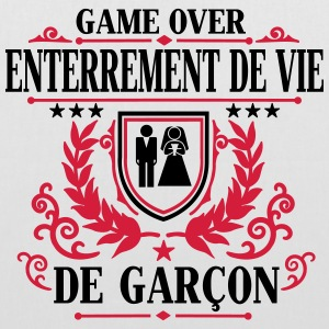 Enterrement de vie de garçon - Game Over Sacs - Tote Bag