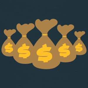 Money Bags T-shirts - Herre-T-shirt