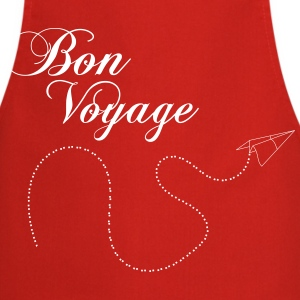 Bon Voyage paper airplane origami 1c  Aprons - Cooking Apron