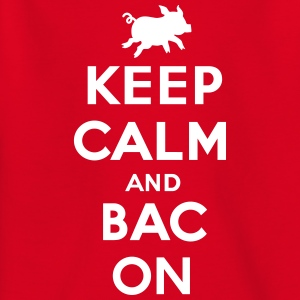 Keep calm and bacon Shirts - Teenager T-shirt