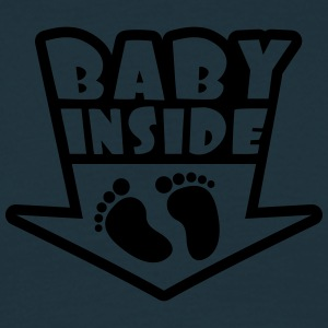 Baby Inside Feets T-shirts - Herre-T-shirt