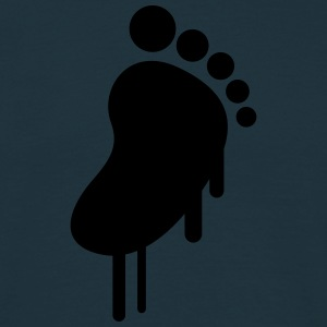 Baby Feet Graffiti T-shirts - Herre-T-shirt