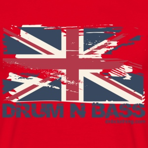 UK DNB Flag T-Shirts - Men's T-Shirt