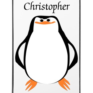 Penguin Just Add Name iPhone Case - iPhone 4/4s Hard Case
