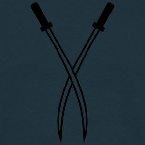 Swords T-shirts - Mannen T-shirt